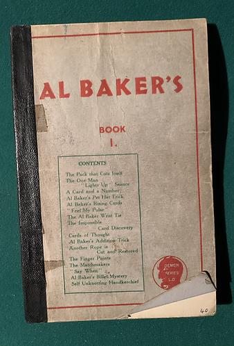Al Baker's Book 1