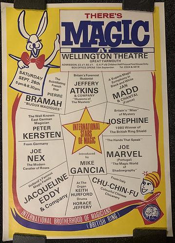IBM British Ring 25 Poster - There's MAGIC Poster