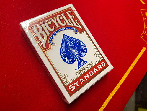 Bicycle Deck - Red, Poker Size, Rider Back