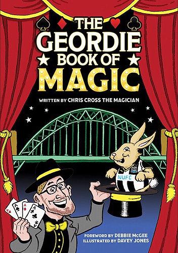 The Geordie Book & DVD of Magic by Chris Cross - DIGITAL VERSION