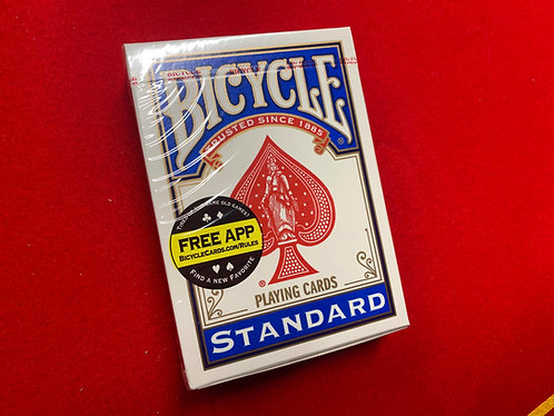 Bicycle Deck - Blue, Poker Size, Rider Back