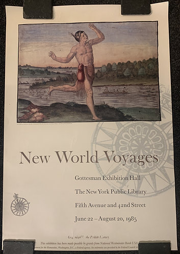 New World Voyages, The Conjuror Poster 1985