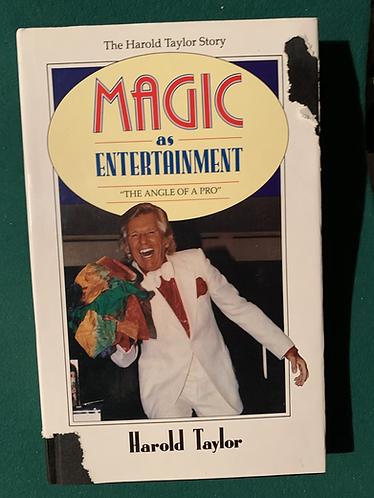 Magic as Entertainment by Harold Taylor