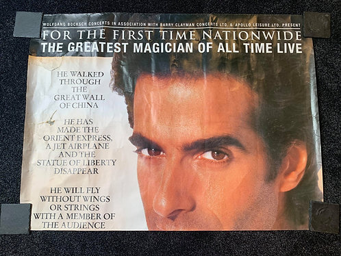 David Copperfield - Top Half Poster FLYING