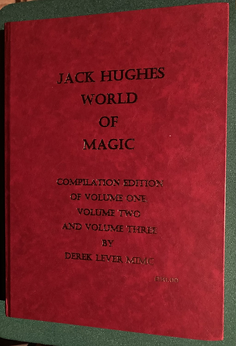 SIGNED The Jack Hughes World of Magic Compilation Edition by Derek Lever
