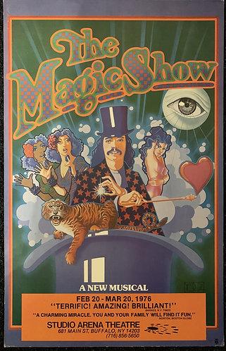 Doug Henning The Magic Show Poster