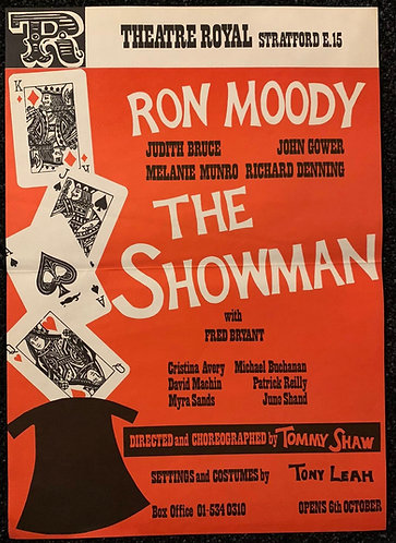 The Showman Starring Ron Moody - Poster