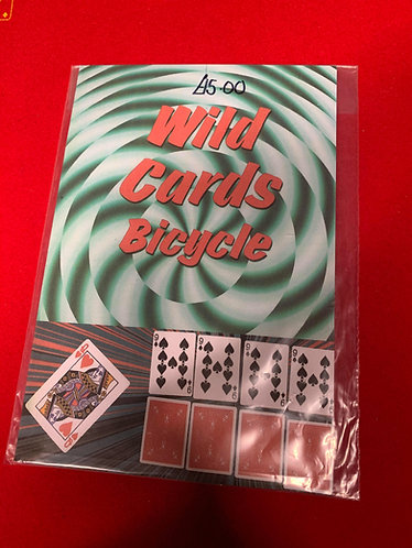 Wild Cards Packet Trick (Bicycle)
