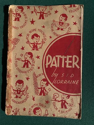 Patter by Sid Lorraine