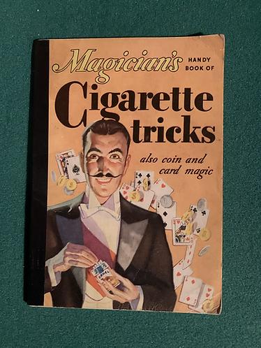 Magician's Cigarette Tricks by Paul Carlton