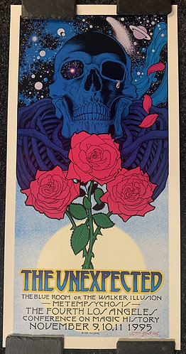THE UNEXPECTED 1995 LA Poster