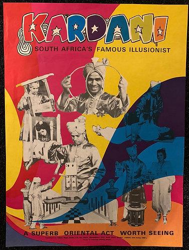 Kardani Poster from Adam's Magic Studio