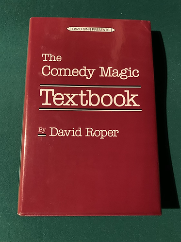 The Comedy Magic Textbook by David Roper