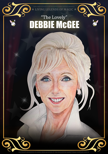 DEBBIE MCGEE - SIGNED Living Legends of Magic Poster Print