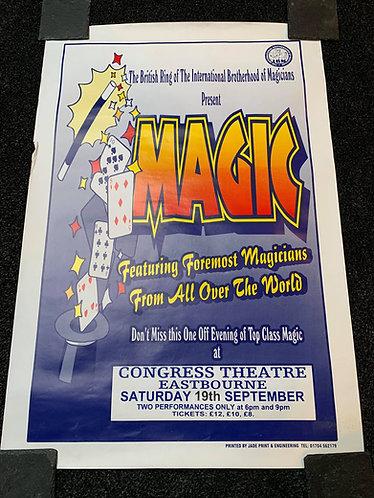 IBM British Ring 25 Poster - MAGIC at The Congress Theatre Eastbourne