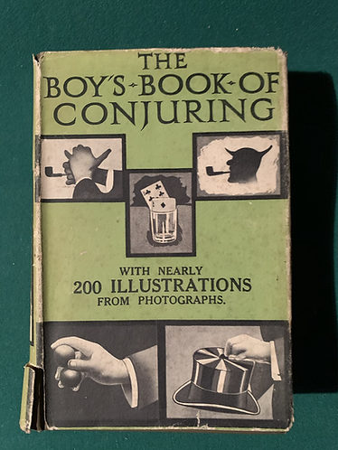 The Boys Book of Conjuring by Ward Lock & Co.