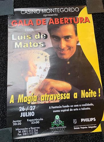 Luis De Matos - Magic Show Poster