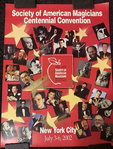 SAMS Centennial Convention Poster, New York 2002