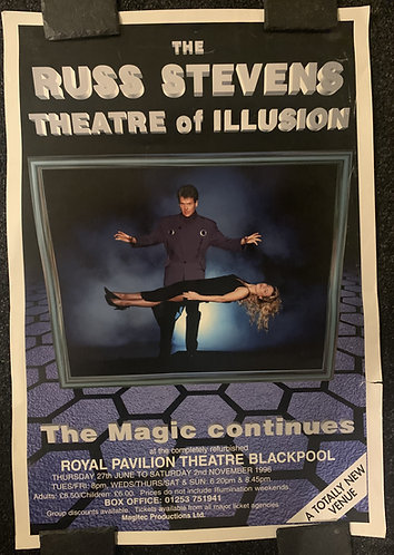 Russ Stevens Theatre of Illusion Poster