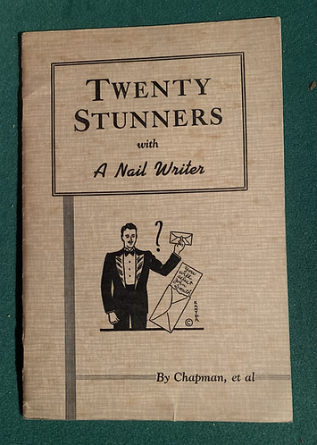 Twenty Stunners with a Nail writer by Franklin M Chapman