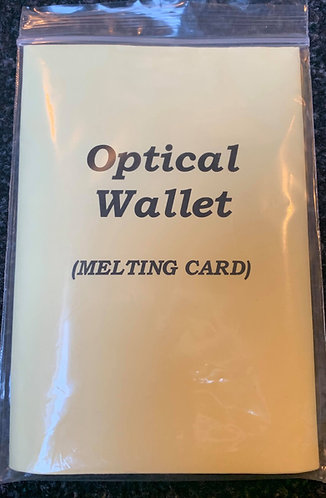 The Optical Wallet aka The Melting Card