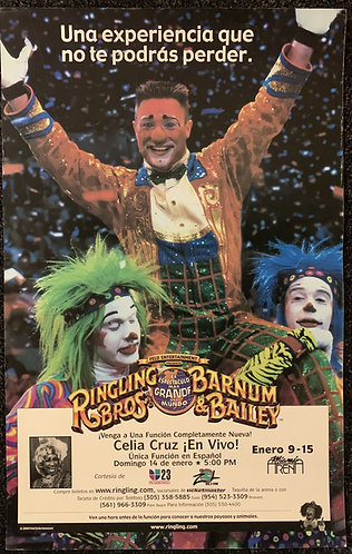 Circus Ringling Brothers / Barnum & Bailey Poster