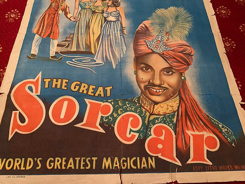 The Great Sorcar - Indian Rope Trick Poster