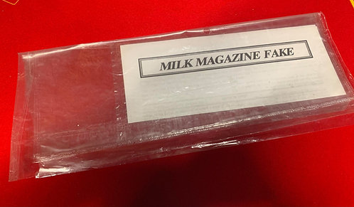 Milk Magazine Fake aka Drink in News