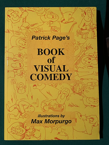 SIGNED Book of Visual Comedy by Patrick Page