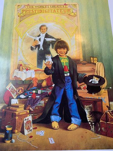 L'Apprenti Sorcier - French Magic Poster