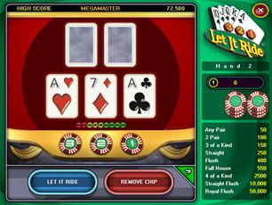 """""""Let It Ride Poker"""""""