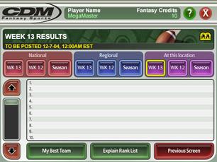 """CDM Fantasy Sports"" (3 of 3)"
