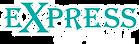 express softball logo white