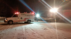 Lake Twp. Fire Dept. Air Boat 2,Truck 820