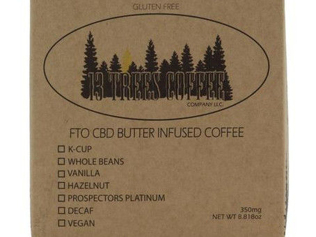 13 Trees CBD-infused Coffee Review