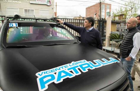 Más patrulla con última tecnología