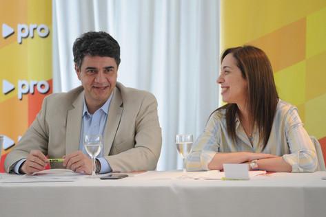 María Eugenia Vidal y Jorge Macri son las nuevas autoridades del PRO bonaerense