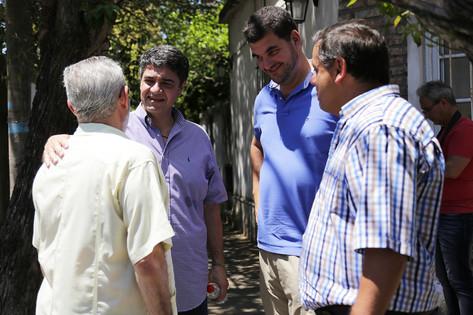 Timbreó por Olivos junto a Patricia Bullrich y Eugenio Burzaco