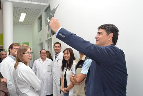 Jorge Macri inauguró obras en el hospital municipal