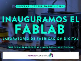21/09 - Inauguramos el FABLAB