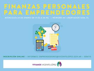 """Taller """"Finanzas Personales para Emprendedores"""""""
