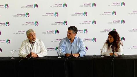 Jorge Macri dio una conferencia de prensa por el protocolo de coronavirus