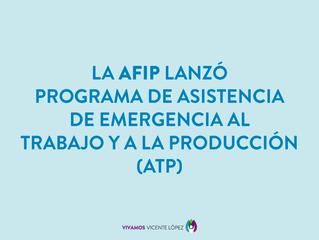 AFIP LANZA EL PROGRAMA A.T.P.