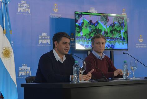 Fernando De Andreis y Jorge Macri presentaron el proyecto de reformas que se realizará en la Residen