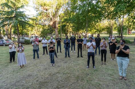 Jorge Macri visitó Pymes de Junín