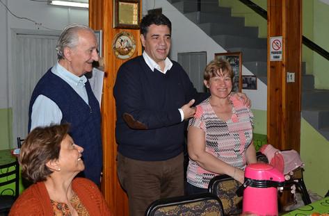 Visitando el centro de jubilados San Marcelo en Tigre