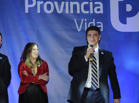 Jorge Macri en un reconocimiento a la labor comercial