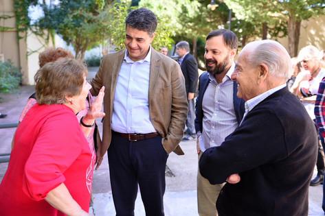 La  ANSES presentó el programa adultos mayores en Vicente López