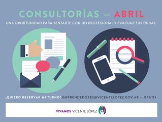 #Consultorías | ABRIL