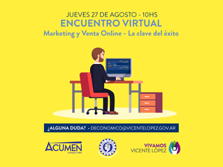 27/08 | Marketing y Venta Online - La Clave del Éxito - #GRATIS